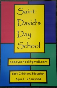 Day School Sign